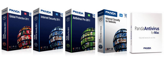 Panda security products 2011